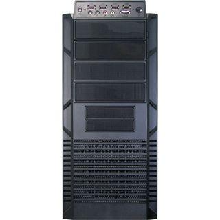 Inter-Tech IT-9909 Airmaster Midi Tower ohne Netzteil schwarz