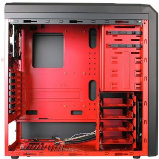 ATX Lancool Red Dragon Edition K62 Midi Tower o.NT Schwarz