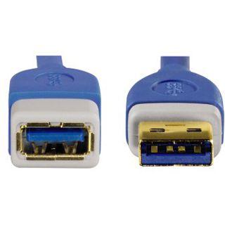 3.00m Hama USB3.0 Anschlusskabel USB 3.0 USB A Stecker auf USB A