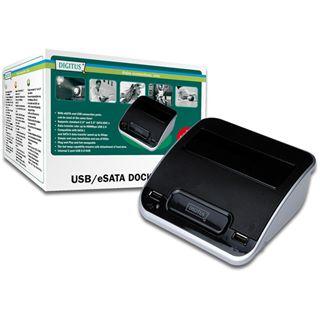 Digitus Docking Station mit USB Hub, USB, eSATA