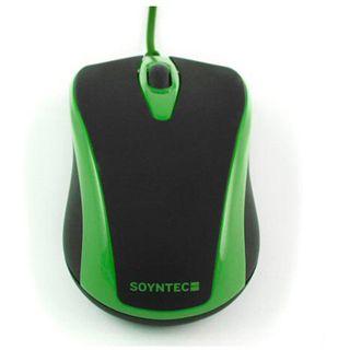 Soyntec Inpput R481 USB schwarz/gruen (kabelgebunden)