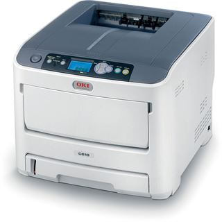 OKI C610n Farblaser Drucken LAN/USB 2.0