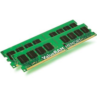2GB Kingston Value DDR2-800 ECC DIMM CL6 Dual Kit