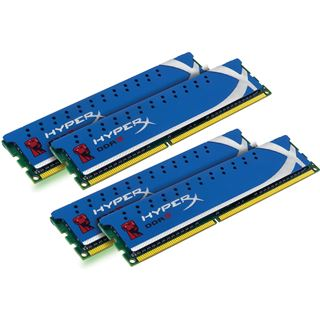 8GB Kingston HyperX DDR3-1600 DIMM CL9 Quad Kit