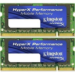 4GB Kingston HyperX DDR3-1333 SO-DIMM CL7 Dual Kit