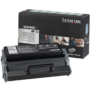 Lexmark Toner 12A1644 Schwarz