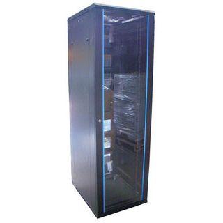 "19"" (48,26cm) Intellinet 203616 27HE Serverschrank schwarz,"