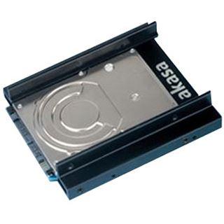 """Akasa Dual SSD/HDD Einbaurahmen für 2,5"""" Festplatten"""