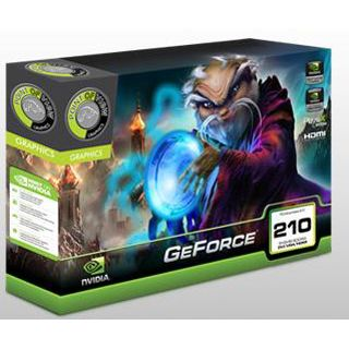 512MB Point of View GeForce GT 210 Low Profile DDR3 PCIe