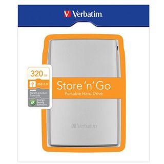 """320GB Verbatim Store and Go Portable 53001 2.5"""" (6.4cm) USB 2.0"""