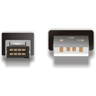 (€3,27*/1m) 1.50m Delock USB2.0 Anschlusskabel USB A Stecker auf