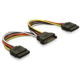(€32,67*/1m) 0.15m Delock SATA Y-Stromadapterkabel SATA Strom