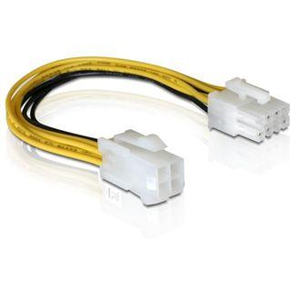 (€32,67*/1m) 0.15m Delock Stromkabel Adapterkabel 4pol P4 Buchse