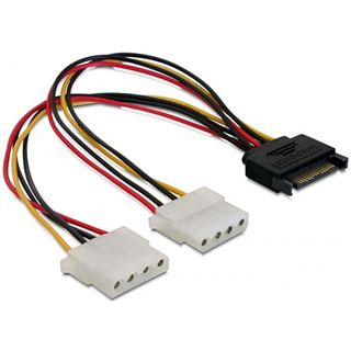 (€24,50*/1m) Good Connections Stromadapterkabel SATA Buchse auf