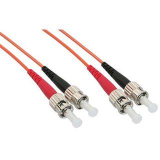 (€0,54*/1m) 50.00m InLine LWL Duplex Patchkabel 50/125 µm
