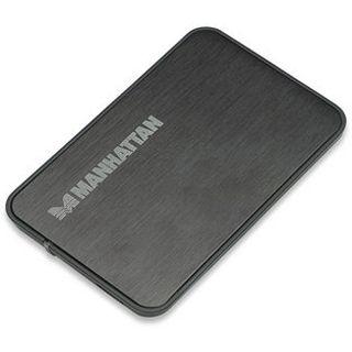 """2.5""""(6,35cm) Manhattan 130196 Laufwerksgehäuse SATA USB 3.0"""