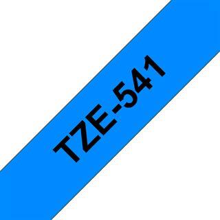 Brother Lam.Band 18mm 8m schwarz/blau