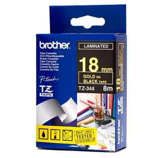 Brother TZ344 P-TOUCH 18mm B-G