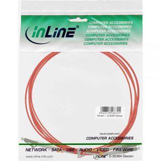 (€2,97*/1m) 3.00m InLine LWL Duplex Patchkabel 50/125 µm