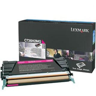 Lexmark Toner C736H2MG Magenta