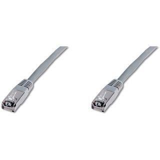 (€7,80*/1m) 0.50m Digitus Cat. 5e Patchkabel FTP RJ45 Stecker