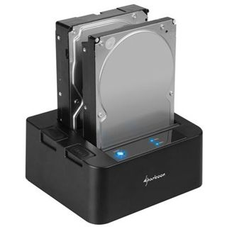 Sharkoon SATA Quickport Duo USB 3.0 Dockingstation für 2.5""
