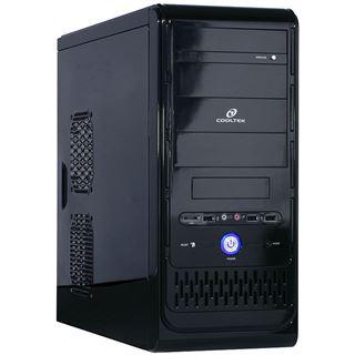 ATX Cooltek K-Series K2 Full Black Midi Tower o.NT Schwarz