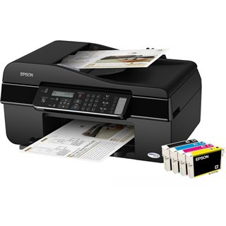 Epson Stylus Office BX305F Multifunktion Tinten Drucker 5760x1440dpi
