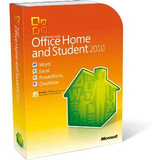 Microsoft Office 2010 Home & Student 32/64 Bit Deutsch 3 User PC