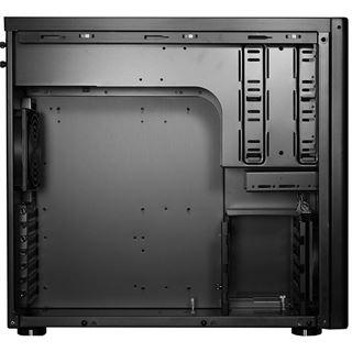 Lian Li PC-8NWX Window All Black Midi Tower ohne Netzteil schwarz