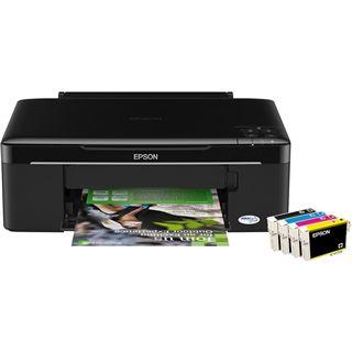 Epson Stylus InkJet SX125 Multifunktion Tinten Drucker 5760x1440dpi