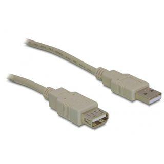 (€2,72*/1m) 1.80m Delock USB2.0 Verlängerungskabel USB A