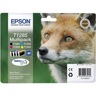 Epson Tinte C13T12854010 schwarz, cyan, magenta, gelb