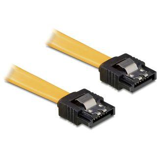 (€13,00*/1m) 0.30m Delock SATA 3Gb/s Anschlusskabel SATA Stecker