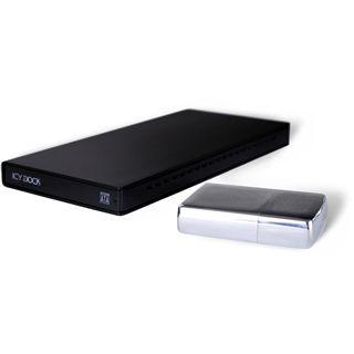 "Icy Dock MB663UB-1SB-1 2.5"" (6,35cm) USB 2.0 schwarz"