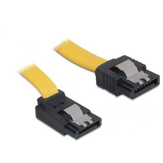 0.70m Delock SATA 3Gb/s Anschlusskabel gewinkelt SATA Stecker auf