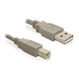 (€1,63*/1m) 3.00m Delock USB2.0 Anschlusskabel USB A Stecker auf