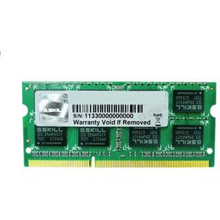 4GB G.Skill Value DDR3-1066 SO-DIMM CL7 Single