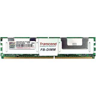 2GB Transcend TS256MFB72V6U-T DDR2-667 FB DIMM CL5 Single