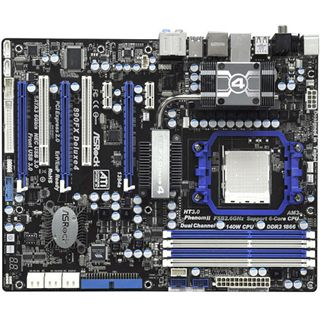 ASRock 90FX Deluxe4 AMD 890FX So.AM3 Dual Channel DDR3 ATX Retail
