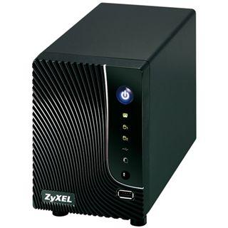 ZyXEL Network Storage NSA-221 NAS System für 2x3,5 SATA II HDD
