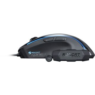 Roccat Kone [+] Laser Gaming Maus Schwarz USB