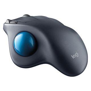 Logitech M570 Wireless Trackball USB schwarz/blau