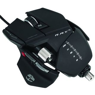 Saitek Cyborg R.A.T 5 Gaming Mouse USB schwarz (kabelgebunden)