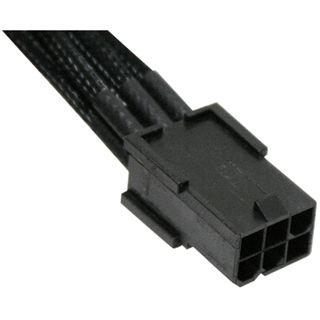 NZXT schwarzes 45cm 6-Pin Stromverbindungskabel für Grafikkarten