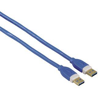 (€6,61*/1m) 1.80m Hama USB3.0 Anschlusskabel doppelt geschirmt
