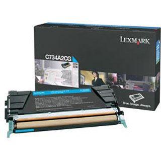 Lexmark C734A2CG LEXMARK LEXM C734 TONER CYA