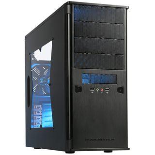 Xigmatek Asgard II mit Sichtfenster Midi Tower ohne Netzteil schwarz