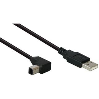 1.00m Good Connections USB2.0 Anschlusskabel gewinkelt USB A Stecker