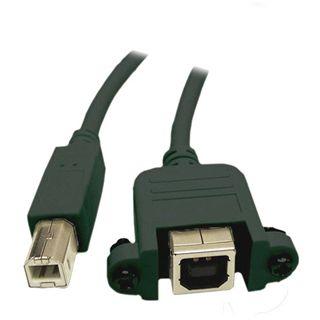 0.50m Good Connections USB2.0 Verlängerungskabel USB B Stecker
